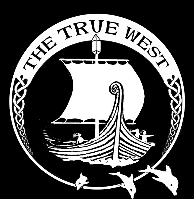 THETRUEWEST SHIP LOGO FOR WOODCUT copy
